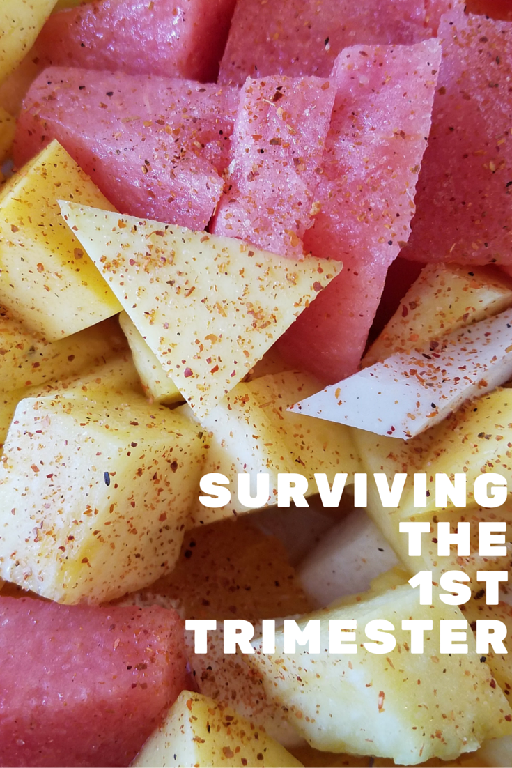 How I Survived the first trimester of pregnancy.